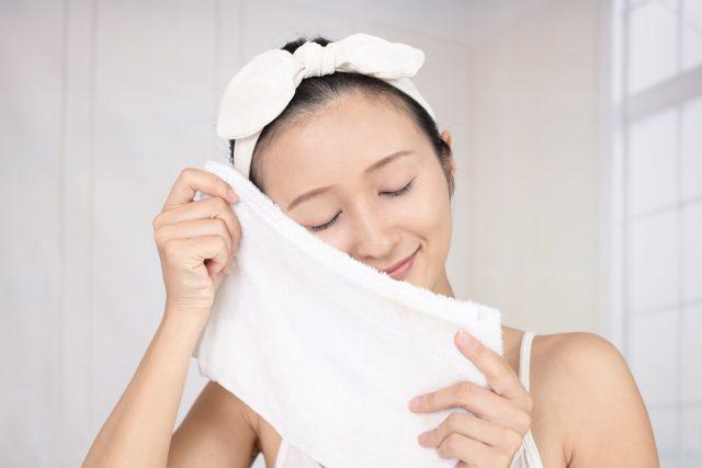 入浴した女性