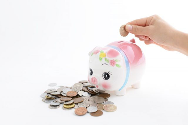 小銭を貯金