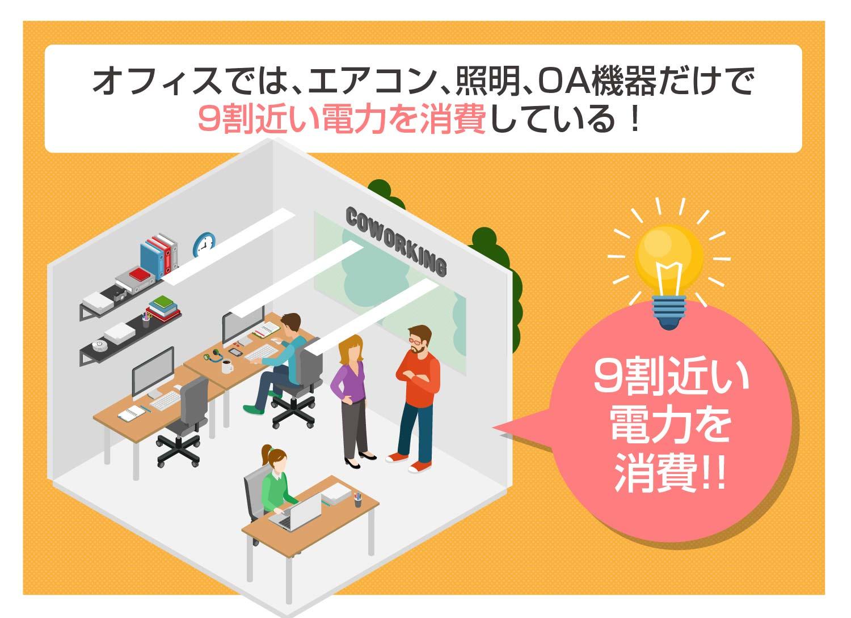 オフィス節電