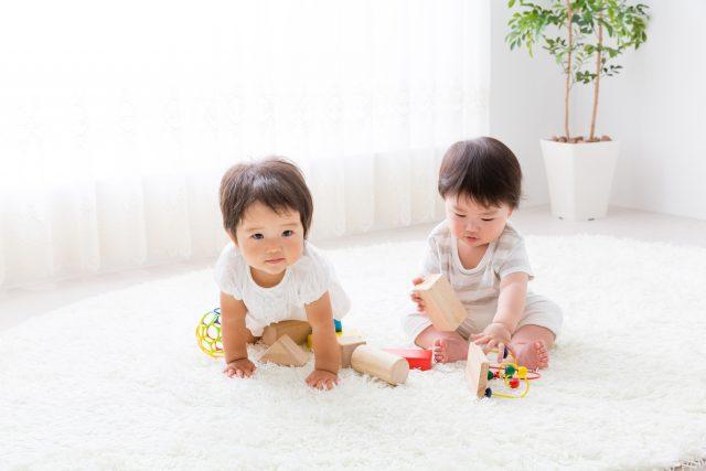 床暖房と赤ちゃん
