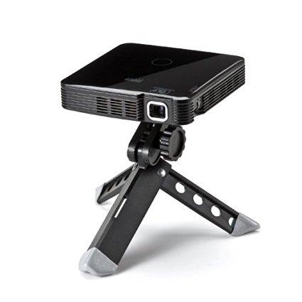 HDMIモバイルプロジェクタ(スマホプロジェクター:小型):400-PRJ014BK:DLP方式