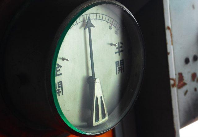 プロパンガス圧力計