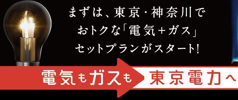 東京電力がガスを販売