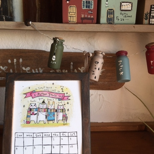 gamiオリジナルカレンダー