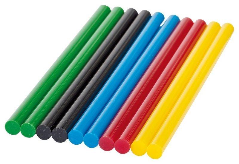 様々な色のグルースティック