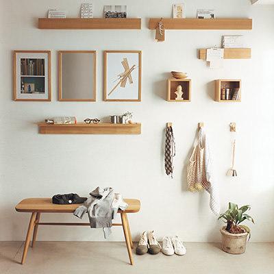 無印良品の「壁に取り付けられる家具シリーズ」