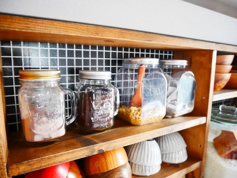 おしゃれな食器棚に変身