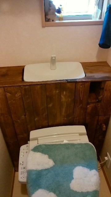 タンクレストイレをDIY
