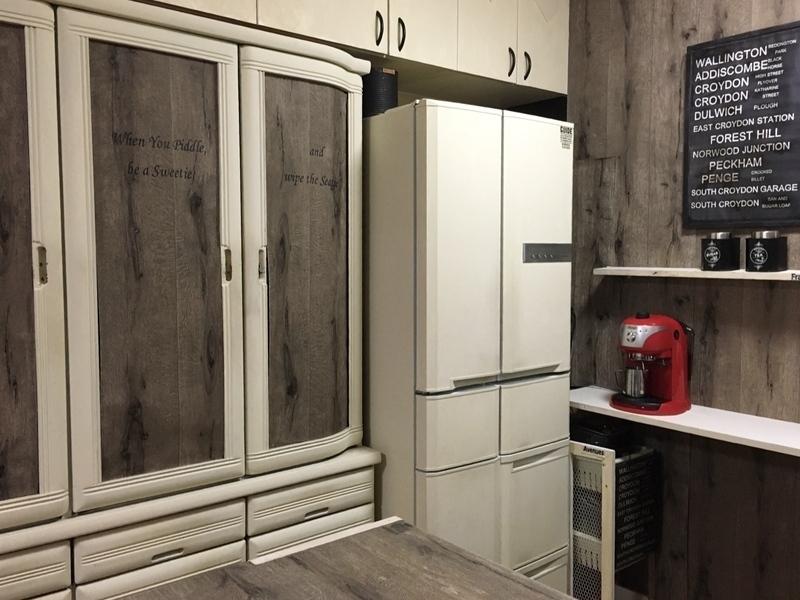 冷蔵庫簡単リメイク