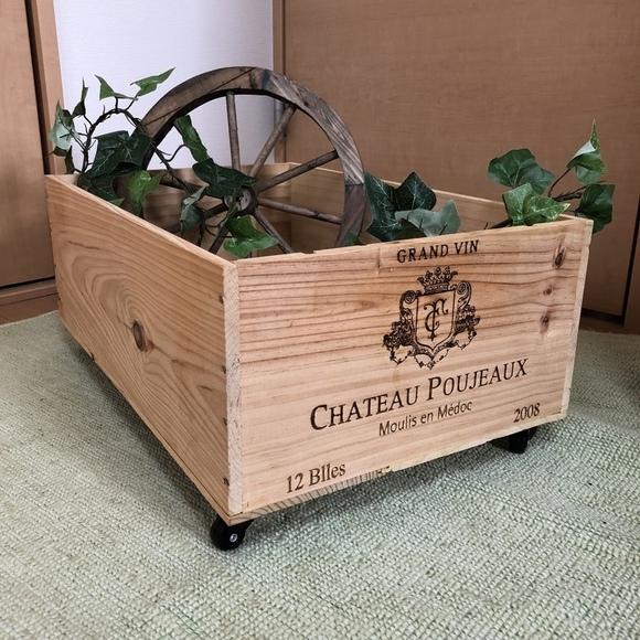 DIYで作るワイン箱リメイク