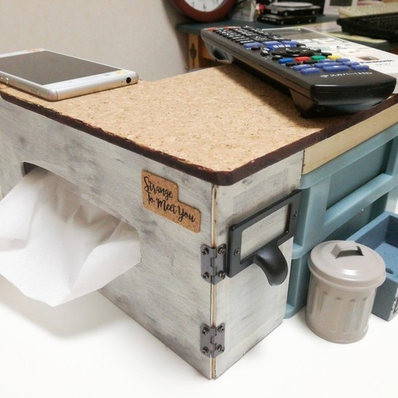 リモコン置き&ハウス型ティッシュケース