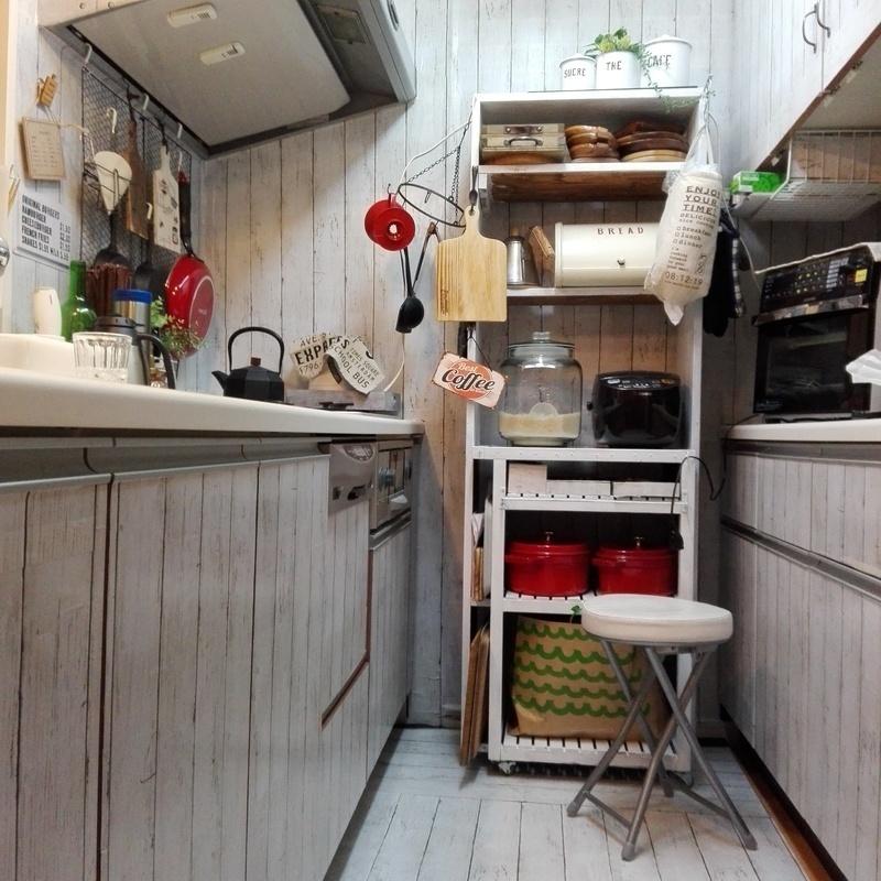 2,200円でキッチン全体の模様替えが完成