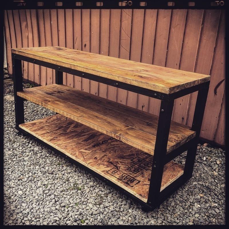木材だけでDIY男前テレビボード