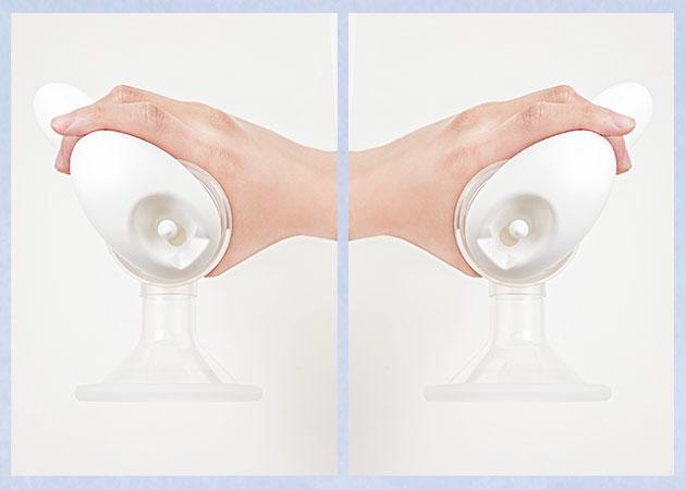左:右手の場合、右:左手の場合