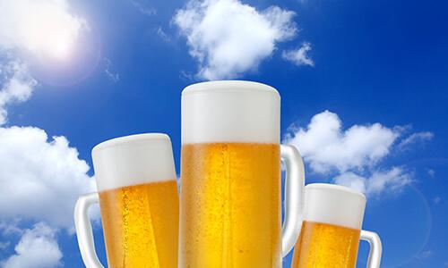 たくさんのビール