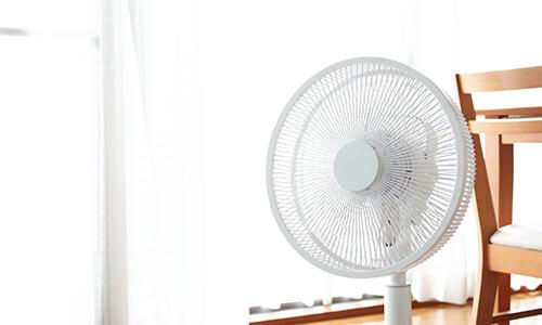 扇風機の活用