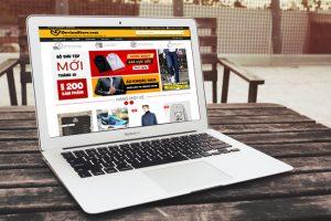 Thiết kế Website bán hàng online chuyên nghiệp, đạt uy tín cao