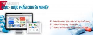 Thiết kế website dược phẩm uy tín nhất
