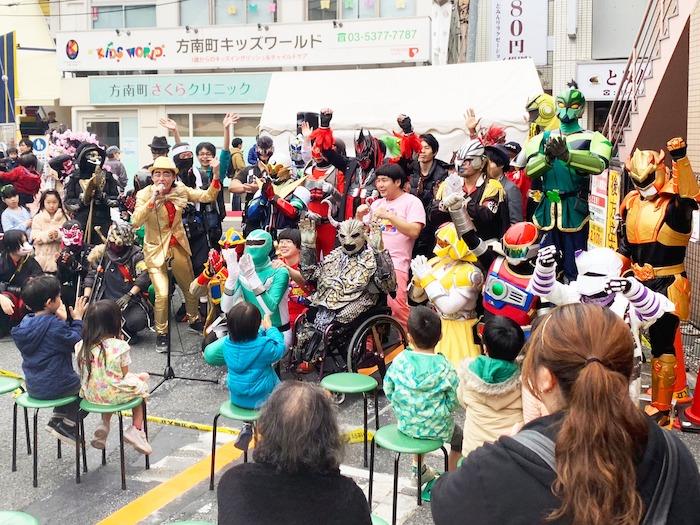 ローカルヒーロー祭り