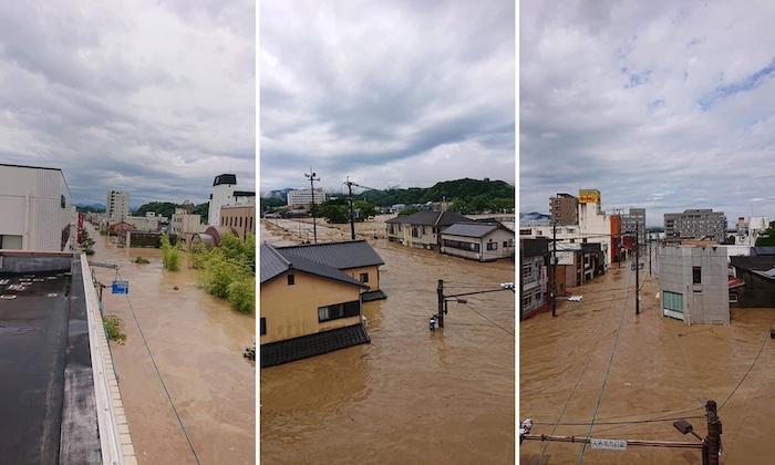 熊本南部豪雨での被害