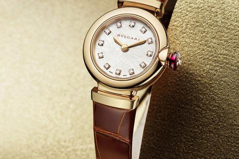 ブルガリで人気の腕時計「ルチェア」に日本限定モデルが登場