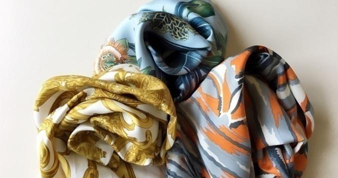 【簡単でおしゃれ】エルメスに学ぶスカーフのアレンジ術