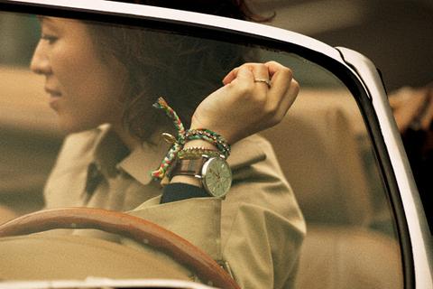 大草直子、時計を使った手元のファッション