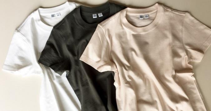 Uniqlo UのTシャツが大人上品。1枚でこなれ感が叶います