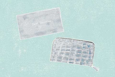 J&M DAVIDSONの財布【わたしのラッキーアイテム】