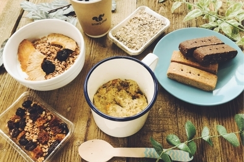 おやつよりしっかり、朝食よりカジュアル。忙しい朝「snaq.meal」で幸せに