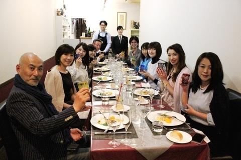 PPssPPワイン部「プロのデクパージュで料理を堪能。ワインと日本酒の持ち寄りパーティー」を開催しました