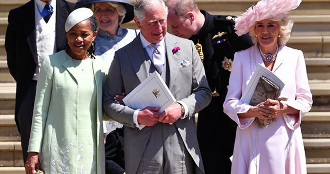 英国ロイヤルウェディング、チャールズ皇太子の腕には『トリック クロノグラフ』