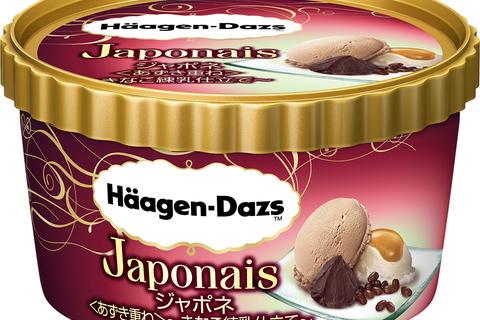 ハーゲンダッツ「ジャポネ<あずき重ね>~きなこ練乳仕立て~」がセブン限定発売に