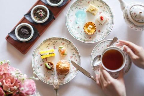 ホテル椿山荘東京で食べて美しさを磨く「チャイニーズアフタヌーンティー」