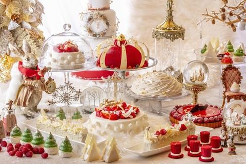 ロマンチックな世界観が素敵。ヒルトン東京のデザートビュッフェ「アリスinクリスマス・マジック」
