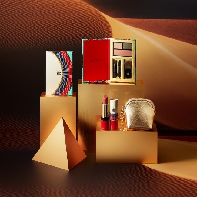 肌を美しく見せる3色パレット入り「KohGenDoホリデーコレクション2018」
