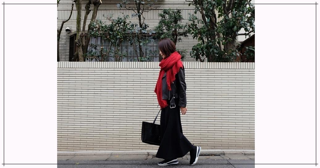 大人の長め丈スカート、こだわるポイントは丈感とボリューム感!