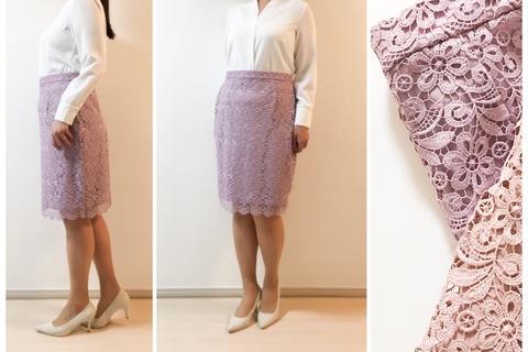 UNIQLO新作レーススカートが上品見え。1990円なんてうれしい