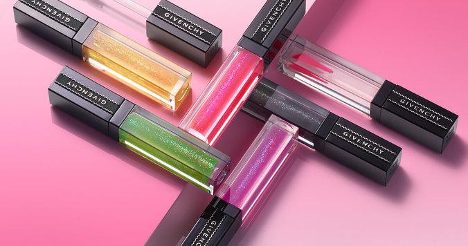 唇の色に合わせて変色するリップグロス。ジバンシイから日本限定色が登場