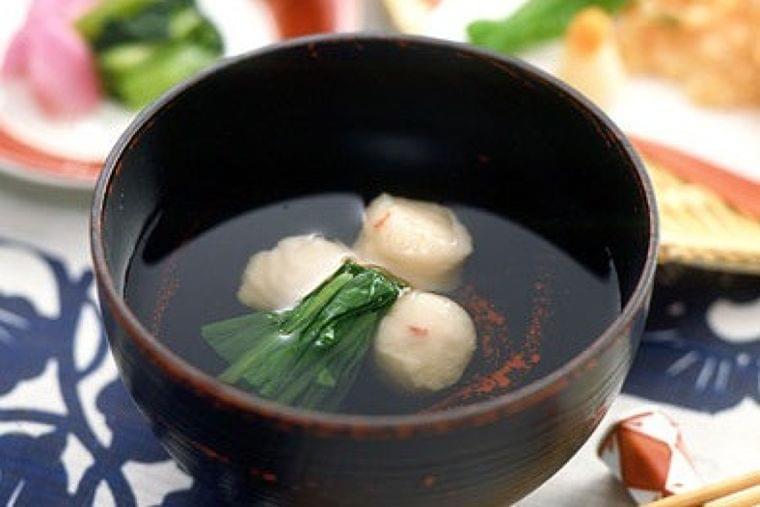 【レシピ】えびつみれのすまし汁