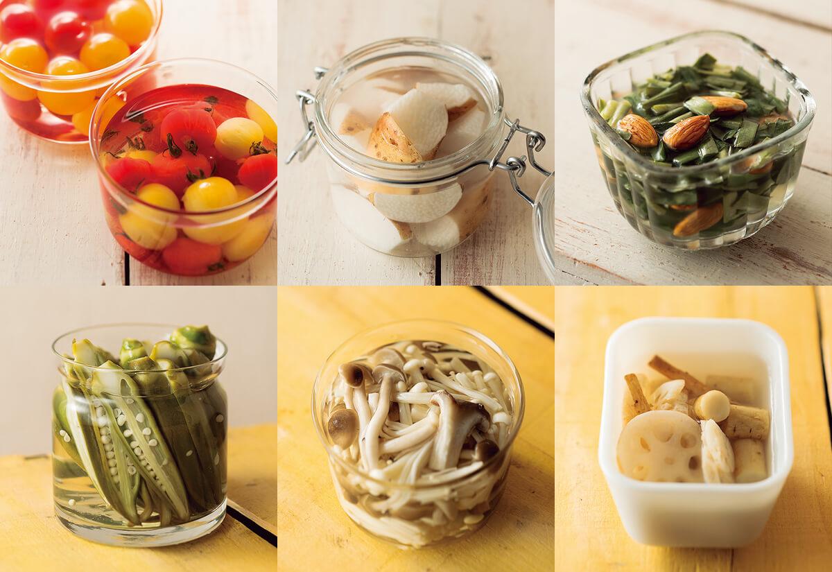 酢ベジタブルで野菜不足解消 切って漬ける簡単レシピ:日経ウーマンオンライン【日経ヘルスの人気記事】