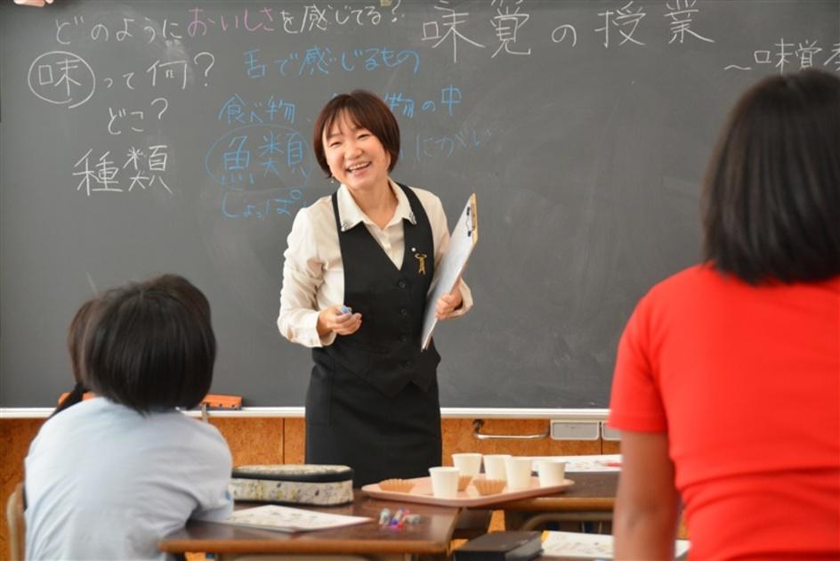 味覚の授業 「おいしい」は暮らし豊かに 西木美輪さんが体験教室 |【西日本新聞ニュース】