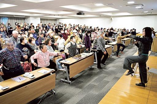 心身衰えの予防策提案 三島で「フレイルの日」制定記念イベント|静岡新聞アットエス