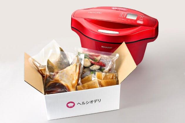 シャープが食材セット販売、自宅で特産品を簡単調理  :日本経済新聞