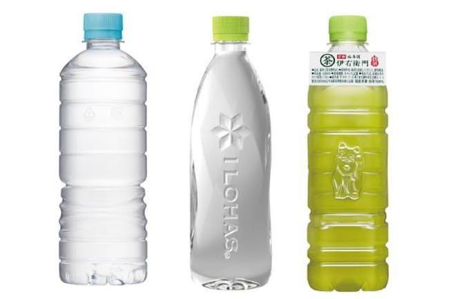 形や梱包材に工夫あり 環境に優しいラベルレス飲料
