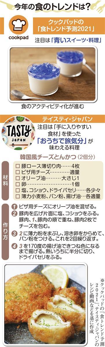 今年の食のトレンド「青いスイーツ」 自宅で旅気分に (1/2ページ) - 産経ニュース