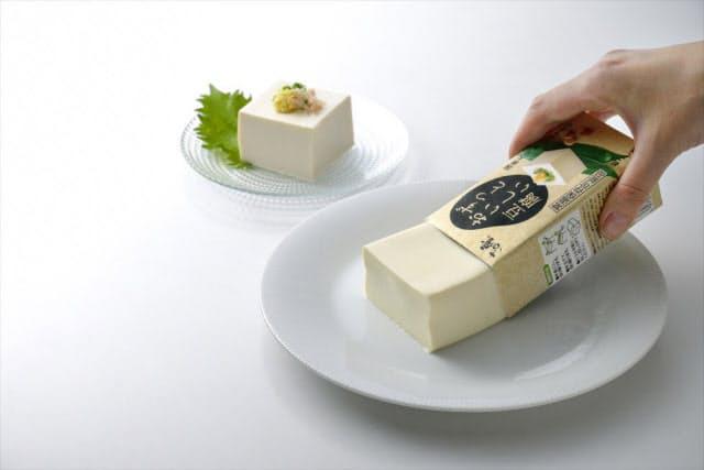 常温保存4カ月間OKの豆腐 製造の鍵は2つの無菌化