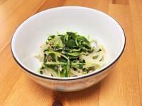 妊娠期のミネラル豊富な【レシピ】ひじきのポン酢サラダ