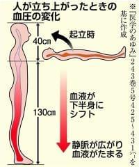 【しっかりチェック!血圧の手帳】立ちくらみ 血圧の調整機能が低下?(1/2ページ) - 産経ニュース