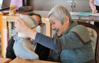 <高齢者福祉 東北の現場>宮城 介護ロボ活躍の兆し「かわいい」利用者に笑顔 - 河北新報